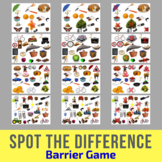 Spot The Difference Barrier Game for Children & Adults - S