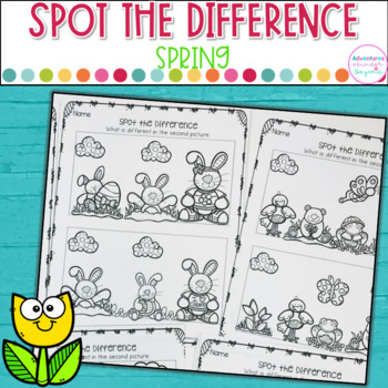 Spot The Difference- Spring Edition