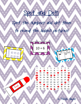 Spot and Dot! Math Center