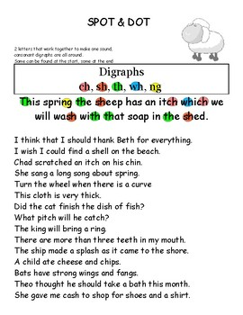 Spot and Dot Phonics Patterns Set