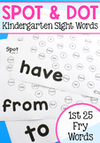 Spot and Dot Sight Words - Set 1