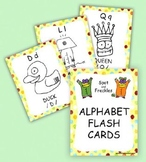 Spot and Freckles Alphabet Flash Cards