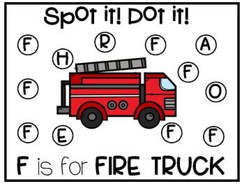 Spot it! Dot it!: Alphabet