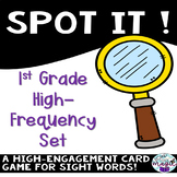 Spot it! First grade F & P high frequency words!