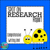 Writing: Spot on Research Report