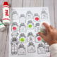 Spot-on Speech & Language: Winter; Preschool Print-N-Go Do