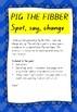 Phonics, blend activity - spot, say, change