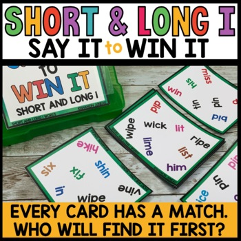 Spot that Word (Long and Short I vowel words)