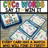Magic E Bossy E Word Practice Game | Spot That Word Litera
