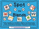 Spot the Blends Common Core