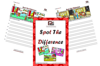 Spot the Difference | 35 Worksheets