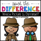 Spot the Difference {Which Picture is Different?}