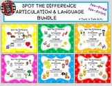 Spot the Difference for Articulation & Language.....BUNDLE