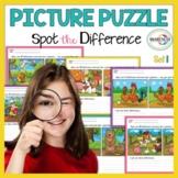Spot the Differences: Expressive Language - Visual Percept