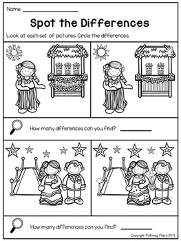 Spot the Differences - Picture Puzzles