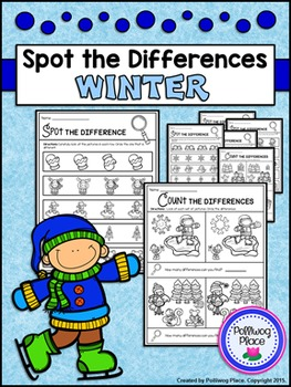 Spot the Differences - Winter