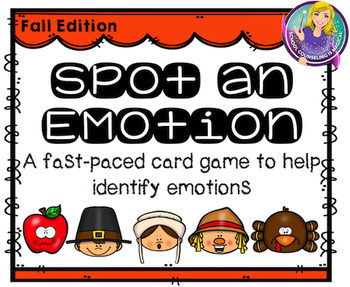 Spot an Emotion (Emotion Identification Card Game)
