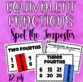Spot the Imposter: Equivalent Fractions