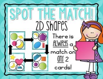 Spot the Match {2D Shapes}