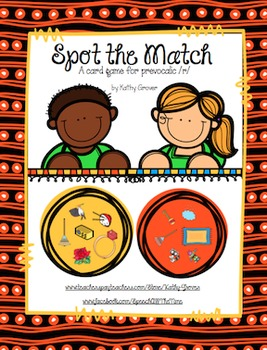 Spot the Match: A Card Game for Prevocalic /r/