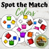 Spot the Match mini-game: Colors any language