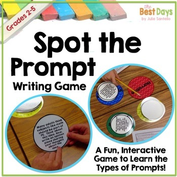 Spot the Prompt:  A Types of  Writing Prompts Game