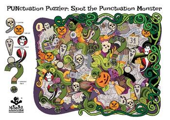 Spot the Punctuation Marks – Halloween