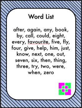 Spot the Word Grade 1 Set 4