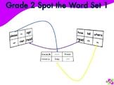Spot the Word Grade 2 Set 1