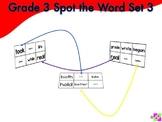 Spot the Word Grade 3 Set 3