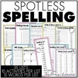 Spotless Spelling {in 2nd Grade}