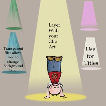 Spotlight Clip Art! - Make Your Resources Shine with this Clip Art~