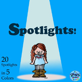 Spotlight Clip Art! - Make Your Resources Shine with this