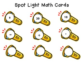 Spotlight Math: Common Core Math Kindergarten Standards