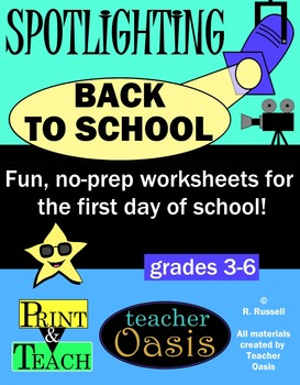"Spotlighting ""Back to School"""