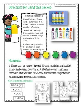 Spotlight On Numbers: Beginning Number Concepts