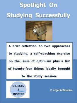 Spotlight On Studying Successfully