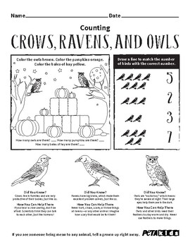 Spotlight These Not-So-Spooky Animals With TeachKind's Halloween Activity Sheets