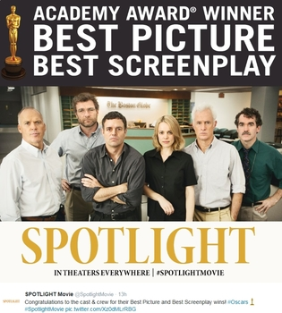 NEW LOWER PRICE: Spotlight Guided Movie Questions WITH ANSWERS