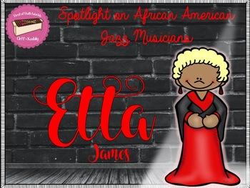 Spotlight on African American Jazz Musicians-Etta James