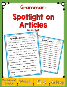 Spotlight on Articles!
