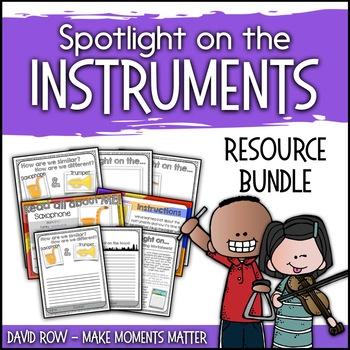 Spotlight on the Instruments - Activity BUNDLE!