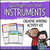 Spotlight on the Instruments - Creative Writing Activity