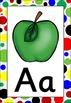 Spots Themed Alphabet Posters Frieze {UK Teaching Resource}