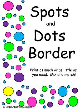 Spots and Dots Border