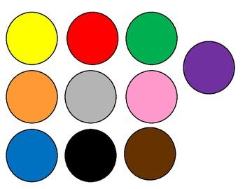 Spots of color
