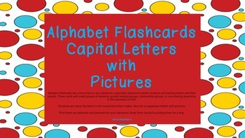 Spotted Alphabet Flashcards