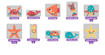 Spotted in the Sea: 10 Clip Art Animals for Personal and Commercial Use