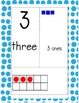 Spotting Number Sense Posters- Blue