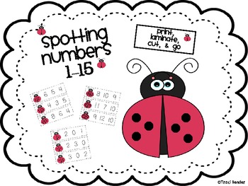 Spotting Numbers 1-15
